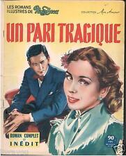 """▬► Nous Deux Roman Photo Complet Collection """"Mon Amour"""" de 1954 UN PARI TRAGIQUE"""