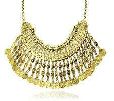 """Collier """"Chic Ethnique"""" Oriental pièce dorée - (plastron ethnic necklace)"""