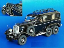 PLUS MODEL COMPLETE KIT MERCEDES G4 RADIOCAR WWII Scala 1:35 Cod.PL195