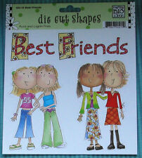 MAMBI Me & My Big Ideas Die Cuts GIRLS Best Friends