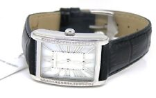 Pierre Cardin Ladies Dame L'Independance Watch PC105172F06 Crystal Leather Black