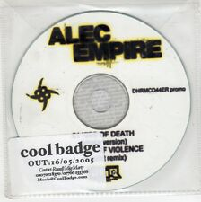 (GJ526) Alec Empire, Kiss of Death - 2005 DJ CD