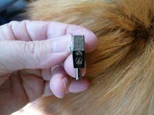 (M-11-A) AKG C414 Mic Microphone tac pin Jewelry Gun metal silver plate classic