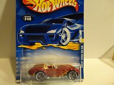 2001 Hot Wheels #240 Cranberry Shelby Cobra 427 S/C w/Lace Wheels