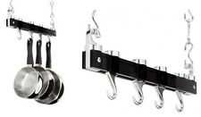 45cm Hanging Pot Rack Saucepan Rack With 2 Pan Hooks 2 Swivel Hooks Judge