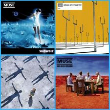 Muse Albums Bundle - Showbiz/Origin/Absolution/Black Holes - 4 x Vinyl LP *NEW*