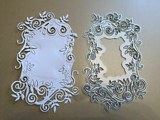 TONIC WILD BRIAR BORDER FRAME CUTTNG & EMBOSSING DIE NEW WITHOUT PACKAGING