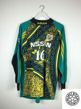 Retro YOKOHAMA MARINOS 90s GK Football Shirt (L) J-League Soccer Jersey Adidas