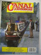 Canal & Riverboat magazine. Vol. 18. No. 2. February, 1995. Thames to Medway.