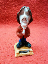 George Harrison Figure  Music The Beatles collectible miniature