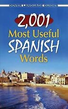 2,001 Most Useful Spanish Words by Pablo Garcia Loaeza (Paperback, 2011)