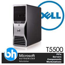 Quad Core Dell Workstation T5500 Tower Intel Xeon 48GB DDR3 Barebones PC 2.13GHz