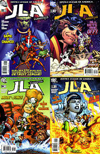 JLA: CLASSIFIED #22-25 (DC COMICS) A GAME OF CHANCE, JLA DETROIT, COMPLETE STORY