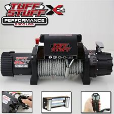 Tuff Stuff 9500lb Winch, Gloves, Cover & Wireless Remote- 12V Recovery Winch