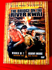 The Bridge on the River Kwai 2 DVDs OOP William Holden Alec Guinness David Lean