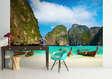 Papel pintado mural para la sala de estar Pared Dormitorio-Foto & - Maya Bay Tailandia