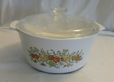 Corning Ware Range Toppers Spice O Life 5 Qt. Stock Pot Dutch Oven N-5-B