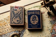 AVIATOR HERITAGE ED. DECK OF PLAYING CARDS USPCC & DAN & DAVE POKER MAGIC TRICKS