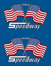 Speedway Vintage Snomobile Race Sled decal set 340 440 793