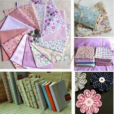 Fabric Squares Cotton Patchwork Quilting Floral Polycotton Craft Remnants DIY