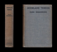 Hugh Broadbridge MOORLAND TERROR Ornithology Murder  1930 First Edition Thriller
