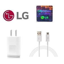 Original oem LG  wall home charger + Micro usb 2.0 cable for LG Smart phone