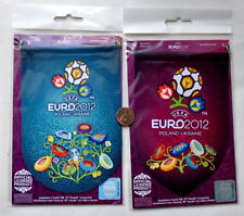 EURO 2012 POLAND - UKRAINE. UEFA Official PENNANT 2 pieces  - NEW!