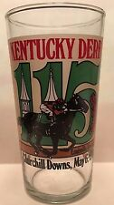 Official 1989 Kentucky Derby 115 Mint Julep Glass Sunday Silence Woodford Makers