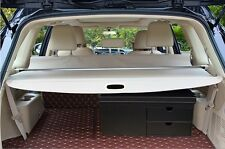 Beige Retractable Rear Cargo Trunk Cover for Ford Everest 4Dr SUV 2015 2016