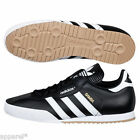adidas Samba Mens Originals Trainers Black Leather Classic Super Indoor Casual
