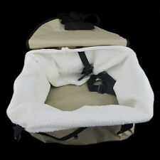 Car Seat Dog Pet Cat Booster Blanket Travel Basket Lining Front Zippered Chair