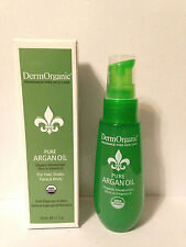 DERMORGANIC PURE ARGAN OIL FOR HAIR, SCALP, FACE & BODY - 1.7oz/50ml