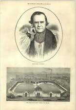 1873 Free Swimming Baths Derby Presented Mr Bass Mp Bishop Of Winchester