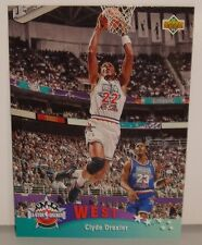 CARTE DE COLLECTION NBA BASKET BALL 1993  WEST ALL STARS CLYDE DREXLER (18)