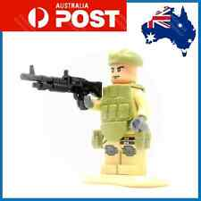 Custom LEGO Minifig Soldier Army Marine Special Forces Gun Weapons Operator