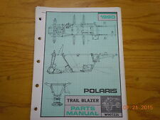 POLARIS 1990 TRAIL BLAZER ATV PARTS MANUAL W907221