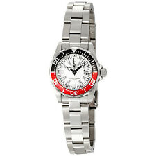 Invicta Sapphire Diver White Dial Stainless Steel Ladies Watch 7062