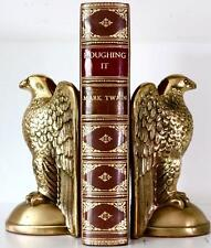 RARE 1872 1stED ROUGHING IT BY MARK TWAIN FINE BINDING BAYNTUN BOOK BINDERS