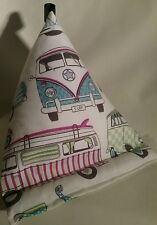 Tablet cushion kindle ipad ebook stand camper van white birthday gift B