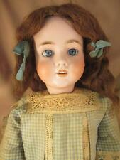 Antique German Bisque Child Doll Kley & Hahn #250 Walkure 30""