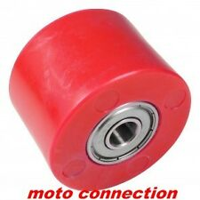 YAMAHA YZ125 YZ250 98-16 MOTOCROSS BOTTOM CHAIN ROLLER GUIDE RED APICO
