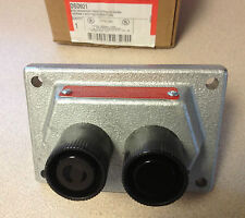 Cooper Crouse-Hinds Explosion-Proof 2 Button Front Cover Assembly DSD921 NIB