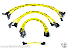 OEM NEW Ford Racing 9mm YELLOW Spark Plug/Ignition Wire Set- 5.0L 5.8L, SBF 302