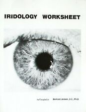 IRIDOLOGY WORKSHEET - Bernard Jensen
