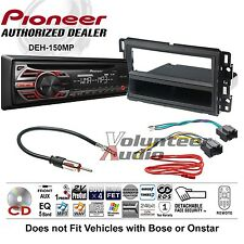 Pioneer Car Radio Stereo CD Player Complete Install Package Dash Kit + Harness