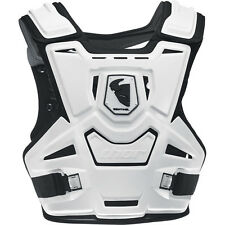 THOR SENTINEL CHEST PROTECTOR WHITE BODY ARMOUR ADULT MOTOCROSS MX ENDURO BMX