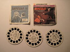 View-Master DRACULA Three Reel Set with Booklet. B 324 (1976)  *VERY RARE!