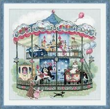 "Counted Cross Stitch Kit RIOLIS - ""Carousel"""