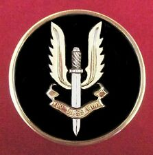 AUSTRALIAN ARMY SAS SPECIAL FORCES COIN MEDAL IN PRESENTATION CASE