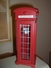 PHONE BOOTH -  DOLL HOUSE MINIATURE